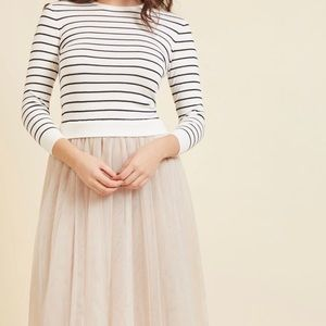 Modcloth Sweater and Tulle Skirt XL